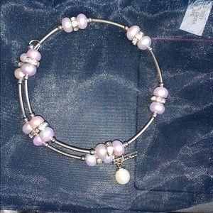 Vantel pearl wrap bracelet